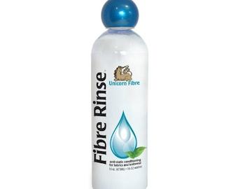 Unicorn Fibre Rinse (Classic Scent) 16 oz Wool Rinse, Knit Conditioner, Hand Wash Conditioner Eco Friendly Biodegradable