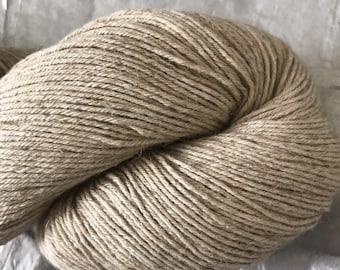 Organic Cotton Linen Yarn, Undyed Yarn, Fingering Weight Cotton Linen Yarn, Cotton Yarn, Linen Yarn, Fingering Yarn