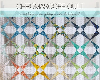 Chromascope Quilt Pattern