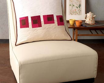 By the Fireside Pillow Cover