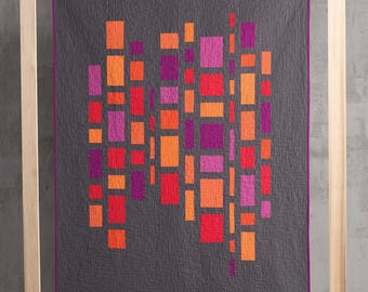 Morse Code Quilt