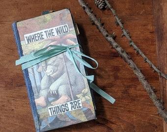 Where the Wild Thing Are - Handmade Junk Journal