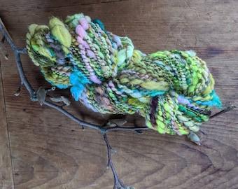 Cozy Afternoon Earth - Handspun Art Yarn