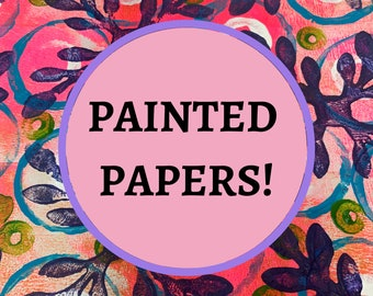 Painted Papers e-course with Amy Smith