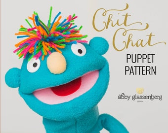 Chit Chat Puppet PDF Sewing Pattern
