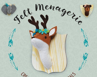 Felt Menagerie Sewing Kit