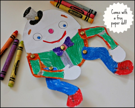 Humpty Dumpty PDF Sewing Pattern with Step-by-Step Photos