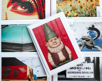 Grab Bag - Two sets of cards - photography art blank cards - SALE