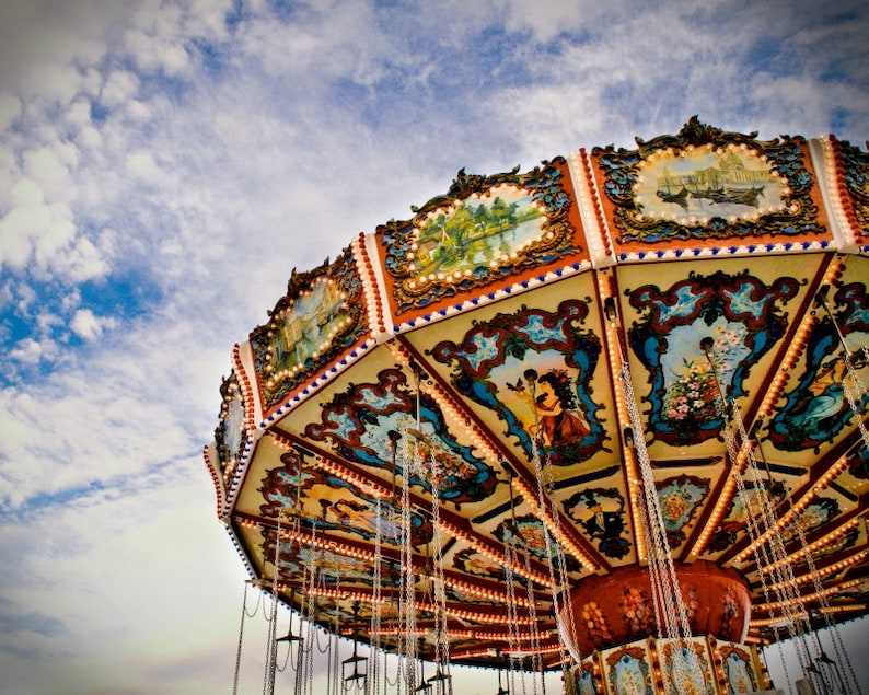 State Fair Swings 8x10 Photographic Print image 0