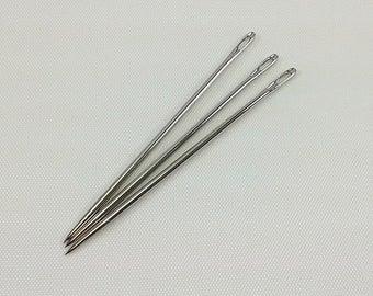 John James Bookbinders Needles, Size 15, Large, John James Binding Needles, Pack of 3, Imported