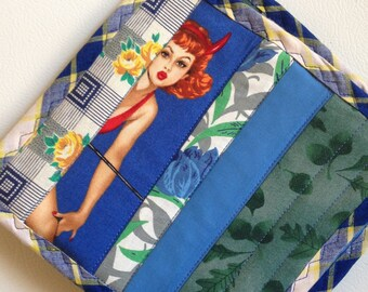 Blue Witch Hot Pad Set