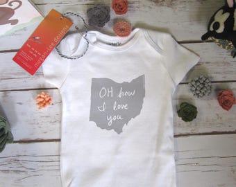 Ohio onesie