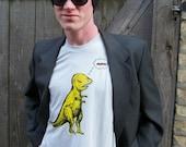 T rex dreaming of bacon t shirt