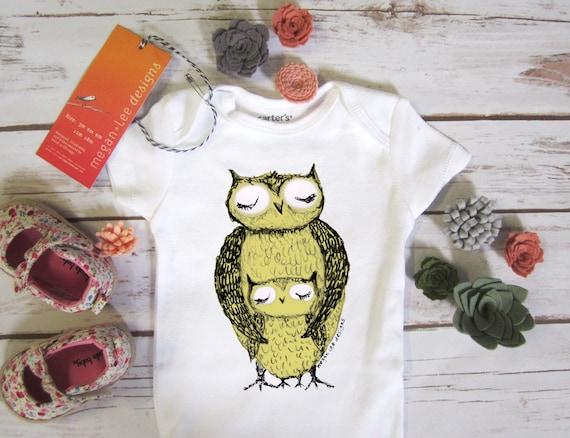 8323ba93053d cute baby Onesie® owl baby clothing owl baby gift owl