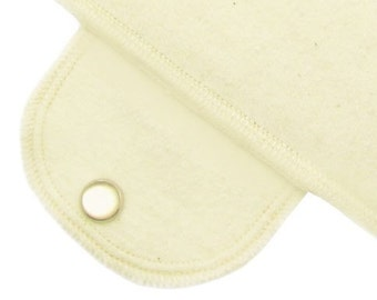 Day Pad Organic Moonpad Reusable Menstrual Pad -Unbleached Natural Simplicity Washable Cloth Pads