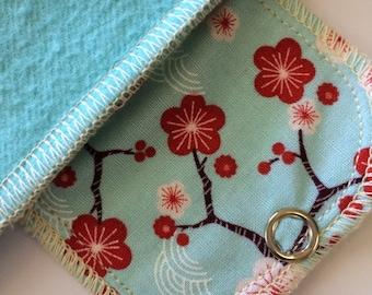 Organic Pantyliner Moonpads Reusable Cloth Menstrual Pads - Sakura