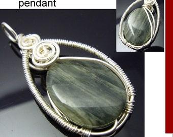 Jasper wirewrapped pendant id1150536