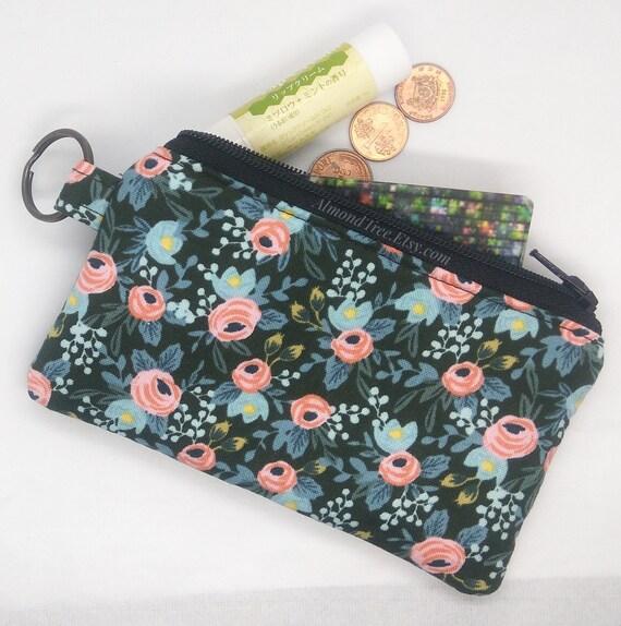 Fleur, menagerie rosa hunter, sac à main, porte-monnaie, porte-cartes, cartes de visite, portefeuilles, idée cadeau, id13700508