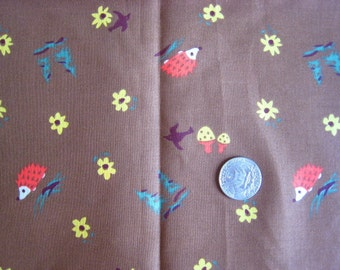 Japanese HEDGEHOG Fabric 1FQ