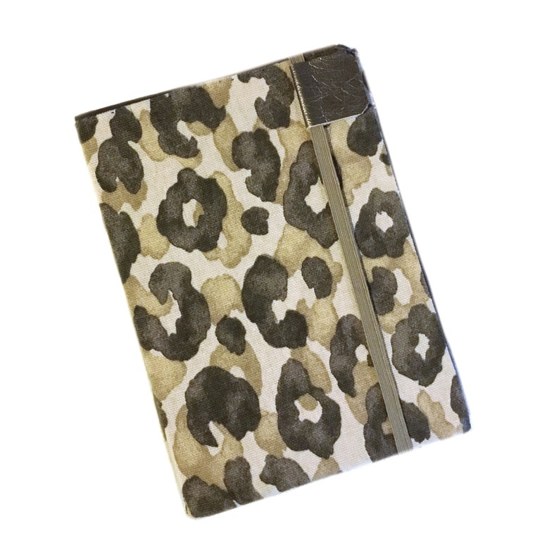 Kindle Paperwhite cover, Sand Leopard, hardcover case for kindle eReaders,  fits Touch, tan and brown animal print, neutral earth tones