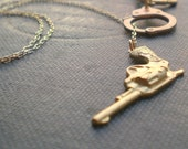 Handcuff Gun Necklace The Outlaw Lariat