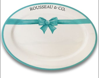 There Is Only One For Me Wedding Signature Platter / Guest Book Alternative