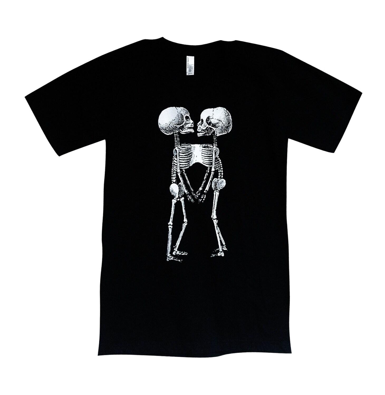 Camiseta de gemelos siameses esqueleto anatómico Mens | Etsy