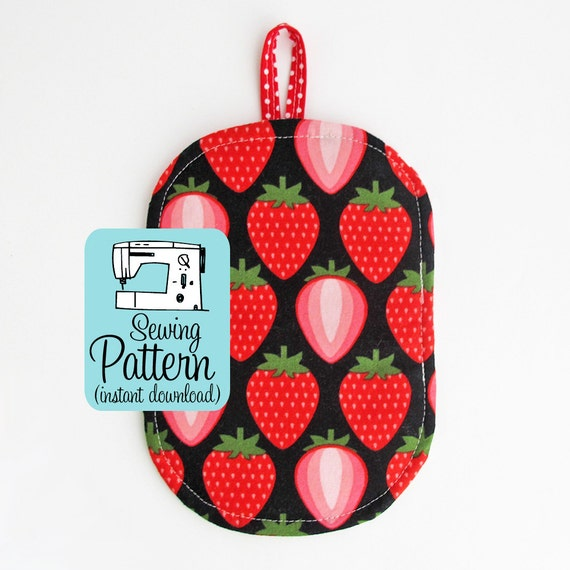 Just A Pinch Potholder Pdf Sewing Pattern Quick And Easy Etsy