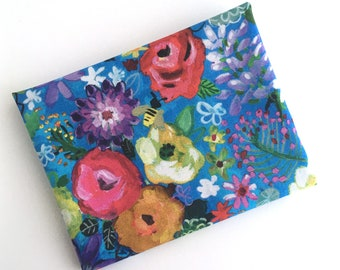 FAT QUARTER Floral print fabric from the Midsummer Dream collection by August Wren for Dear Stella