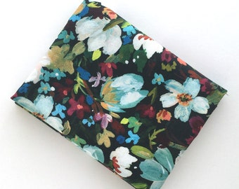 Floral Print Fabric: FAT QUARTER of multi-color flower print fabric from Dear Stella