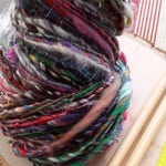 Anything Box Rockstar Handspun - a rainbow of colors and earthy tones and textures, 90 yds