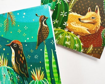 Pen Pal Greeting Card Set — Outdoorsy Note Cards — Homestead Gifts — Writing Stationery Stationary Set of Blank Cards with Envelopes