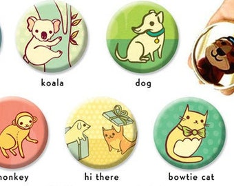 Animal POCKET MIRRORS –Gift for Women – boy girl party favors for teens –Tween party favor idea – Work Party Favor Ideas friend gift