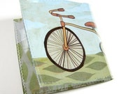 BICYCLE, actually tricycle, billfold pocket wallet by boygirlparty and poketo, coin folded vinyl vegan