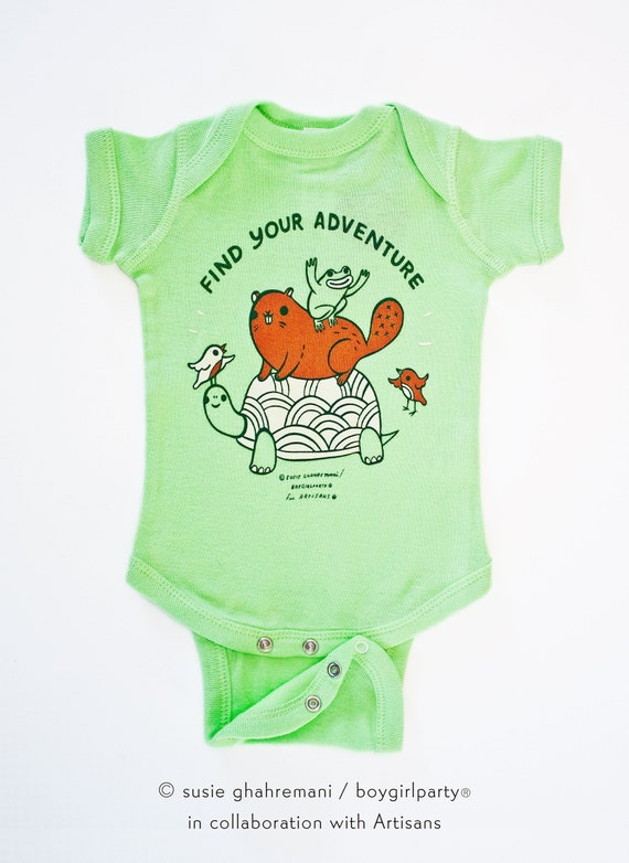 b9eb90e35 Woodland animal baby clothes ...