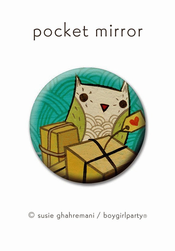 Travel Gifts For Women Pocket Mirror Owl Gifts For Her Travel Buddy Woman Best Travel Gift For Her Cute Cheap Gift For Women Favors