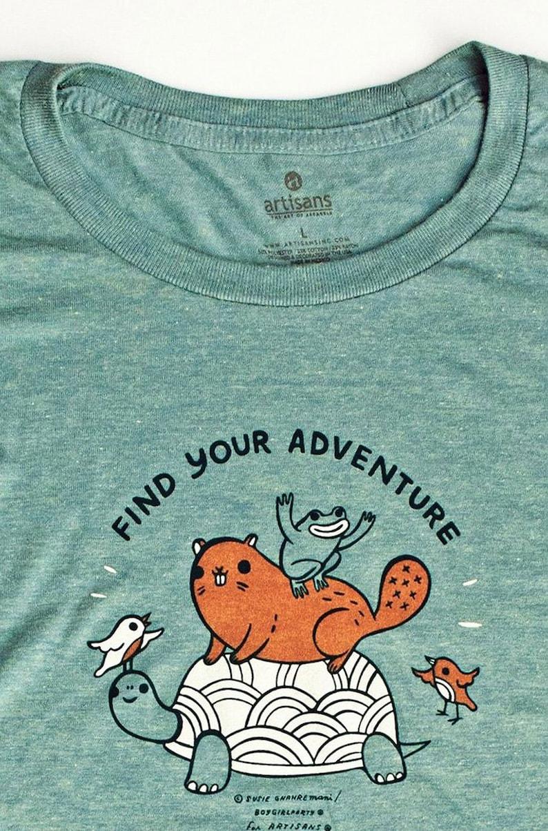 f9bd07e97 Adventure t shirt // women's adventure tee shirt comfy | Etsy