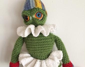 Doll Crochet Pattern, Crochet Amigurumi Pattern, Toy Pattern, Holiday Monster, Monster Doll