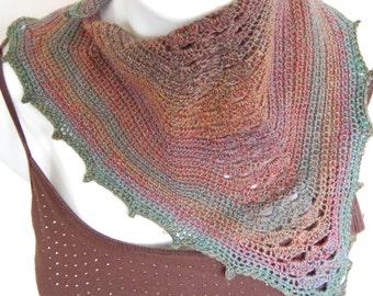 Crochet Pattern, Crochet Scarf, Scarf Pattern, Scarflette Crochet Pattern