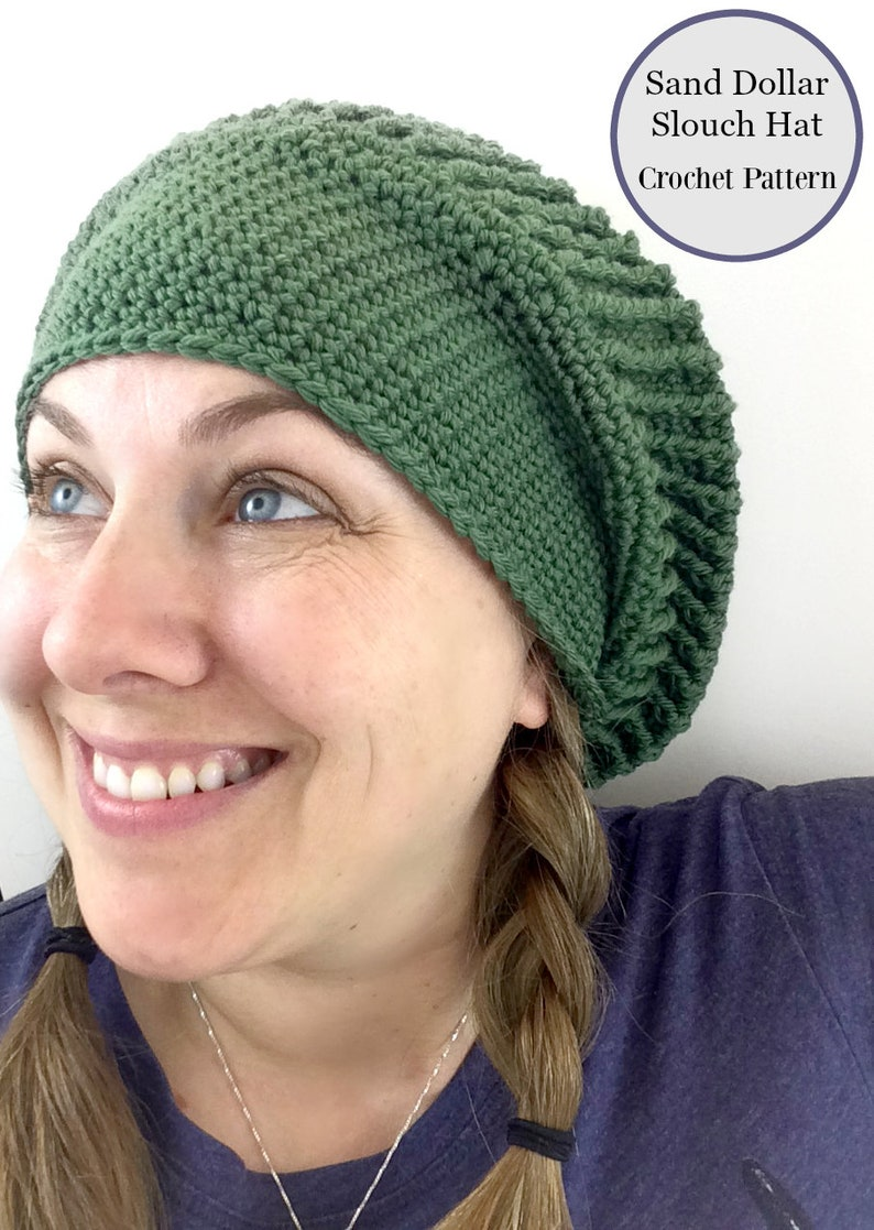 d4301ad14af Slouch Hat Crochet Pattern for Crocheters