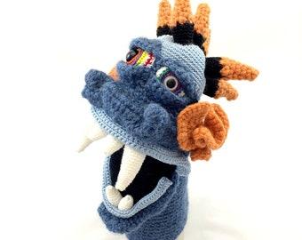 Puppet Pattern, Amigurumi Pattern, Monster Crochet Pattern, Monster Puppet Doll
