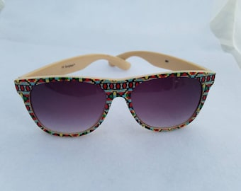 b9673265576 Vintage 1990 s Aztec Print Sunglasses NY Sunglass™