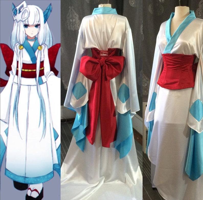 Cosplay kimono with obi corset image 0