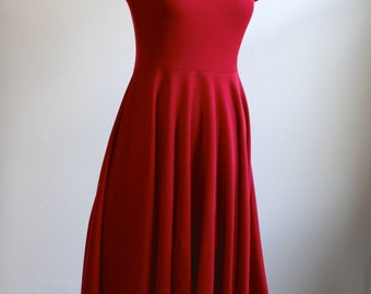 Red Riding Hood Women's jersey hooded dress