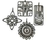 Handcrafted Tribal inspired pendants