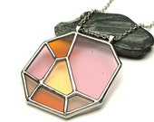 Stained glass pendant - 9111