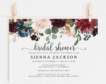 adc9cf867213 Bridal shower invitation