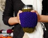 PATTERN - Hand Warmer Mug Cozie