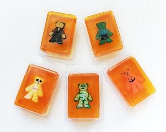 Pumpkin-scented Halloween Bear Toy in Soap