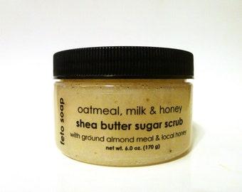 Oatmeal, Milk & Honey Sugar Scrub